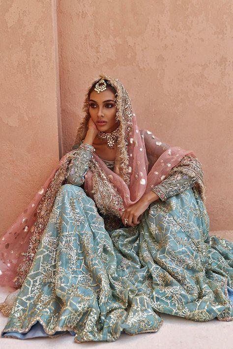 Asian Wedding Dress, Pakistani Wedding Outfits, Bridal Outfits, Pakistani Dresses, Indian Dresses, Indian Outfits, Pakistani Bridal Wear, Desi Wedding, Wedding Ideas