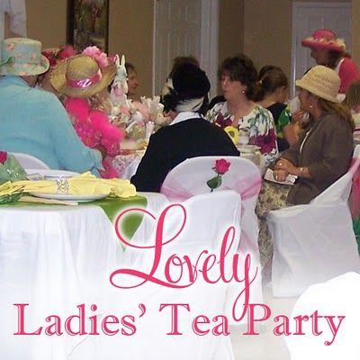 Tea Party - food and décor ideas