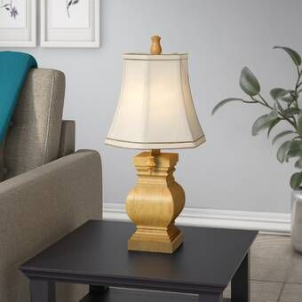 Ophelia Co Rosa 34 Table Lamp Reviews Wayfair Table Lamp Living Room Lighting Lamp