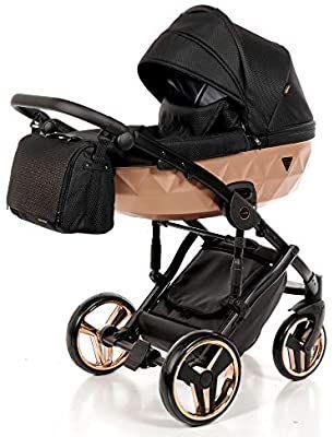 Luxus Kinderwagen Set 2in1 Buggy Babywanne Babyschale Buggy