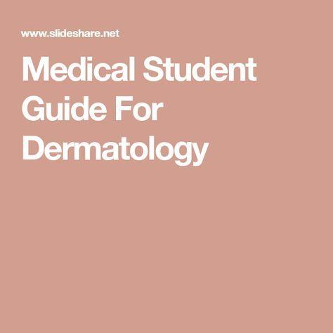 Dermatology Slideshare