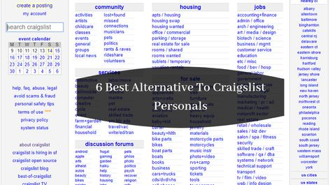 6 Best Alternative to craigslist personals To Post Free Ads Updated 2021