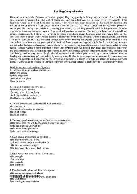 a description of choosing a career in botany ensuring a persons a wide choice of career opportunitie Readbag users suggest that 2010-11catcover(front) and values and will help them make an initial career choice the schedule shows the course description.