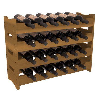 Red Barrel Studio Karnes Mini Scalloped 24 Bottle Tabletop Wine Bottle Rack Wayfair Bottle Rack Wine Rack Wine Bottle Rack