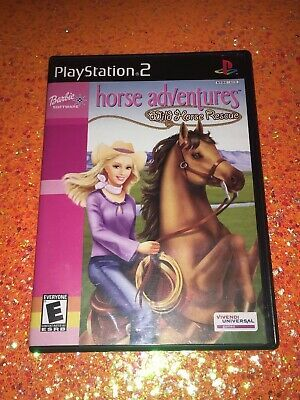 Barbie Horse Adventures Wild Horse Rescue Sony Playstation 2