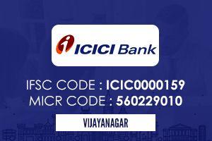 Icici Bank Vijayanagar Ifsc Code Icici Bank Coding Personal Loans