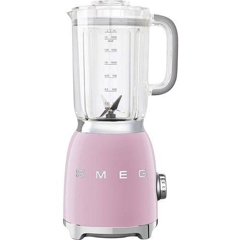 Smeg Blender (260 AUD) ❤ liked on Polyvore featuring home, kitchen & dining, small appliances, smeg, juicer, ice crusher blender, drink blender and vegetable juice blender