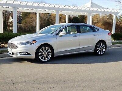 Ford Fusion Platinum >> Ebay Advertisement 2017 Ford Fusion Platinum 2017 Ford