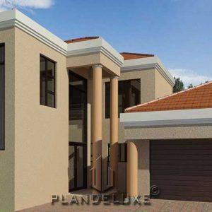 Double Story 4 Bedroom House Floor Plan Home Designs Plandeluxe In 2021 4 Bedroom House Plans Bedroom House Plans My House Plans