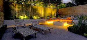Chill Out Garden Hcl Garden Design In 2020 Garden Design Granite Paving Design