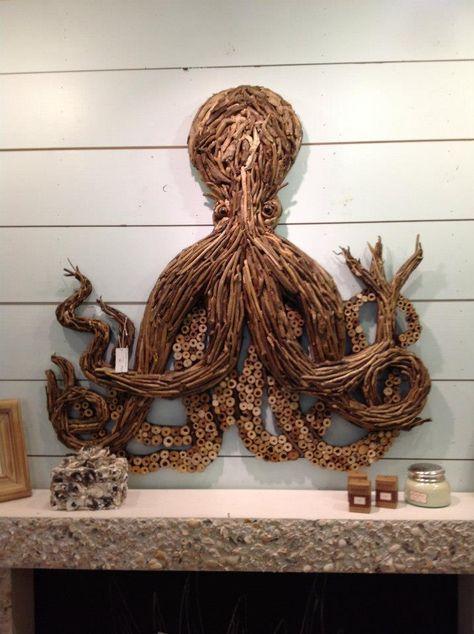 Driftwood Octopus - a real piece of art!