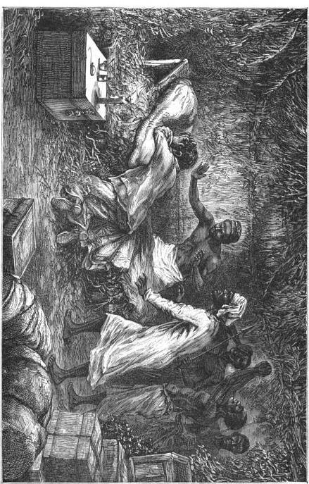 Arabisches Sklavenschiff   aus Graphic Sklavenhandel in Afrika - Dr Livingston I Presume