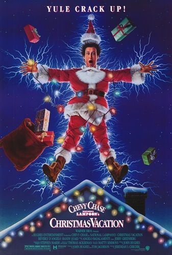 National Lampoons Christmas Vacation (1990) Solid-Faced Canvas Print