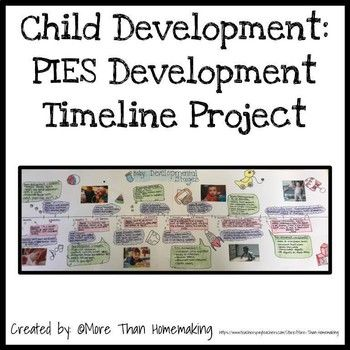 Child Development Pies Development Project Child Development Teaching Child Development Activities Family And Consumer Science
