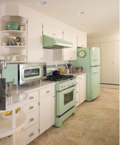 Magnificent 5 Trending Kitchen Colors Colorful Kitchens Retro Home Interior Design Ideas Philsoteloinfo