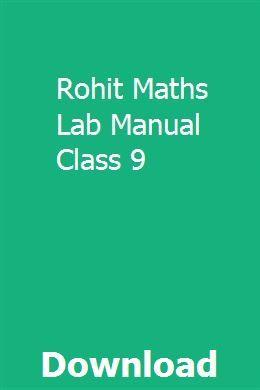 lab manual maths class ix