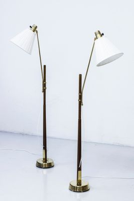 Floor Lamps By Hans Bergstrom For Atelje Lyktan 1940s Set Of 2 2 Lamp Floor Lamp Flooring