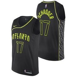 2904fad6d8f Atlanta Hawks Canottiera Swingman Nike City - Dennis Schroder - Uomo ...