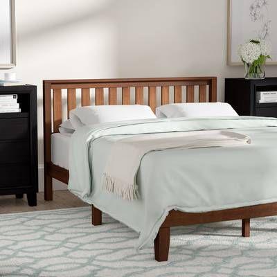 Sison Low Profile Platform Bed Furniture Solid Wood Platform