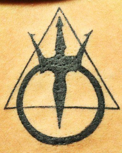 Warrior Symbol Tattoos : warrior, symbol, tattoos, Tattoo, Warriors, Poseidon, Black, Poison, Tattoos, Warrior, Symbol, Tattoo,, Tattoos,, Symbols