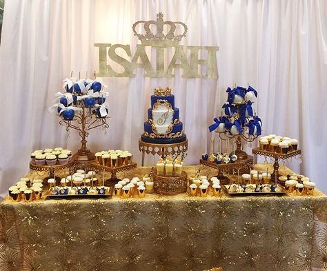 A Little Prince Babyshower! Royalty Cake & Photo credit: @thebuttercreamery…