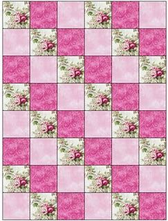 Image result for Easy 3 Fabric Quilt Patterns | Patchwork quilt