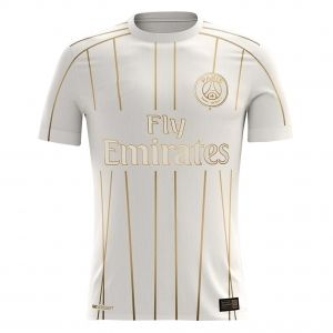 new product 1e4af e00a5 2018-19 Cheap Jersey PSG Away Replica White Shirt [CFC52 ...