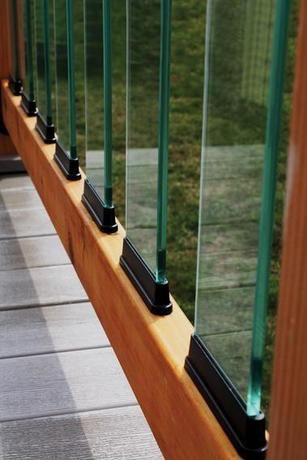 Browse Fortress Glass Railings If You Re Trying To Finding A Cost Effective Way Of Having A Glass Ra Glass Balusters Glass Railing Deck Balcony Railing Design