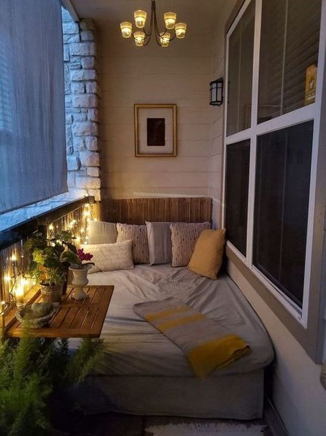 25 Cozy And Creative Ways To Make Bedrooms In Your Balcony House