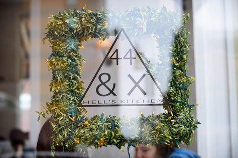 One of our favorite restaurants in our neighborhood, 44 & X Hell's Kitchen never disappoints.