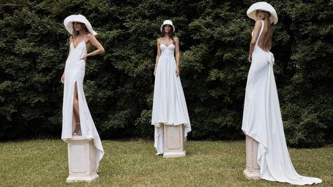 La robe de mariée Willow de la collection 2021 Grace Loves Lace   Tendance mariage : interview de la créatrice de Grace Loves Lace pour ses robes de mariée 2021   Vogue Paris