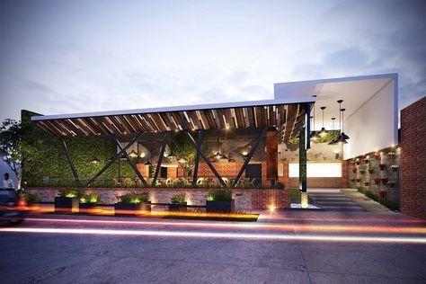 Exterior Restaurant Facade Design Concepts Besthomish