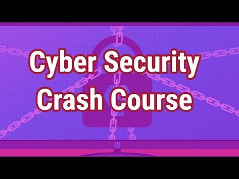 Cyber Security Full Course For Beginner Youtube Cyber Security Cyber Security Course Security Courses