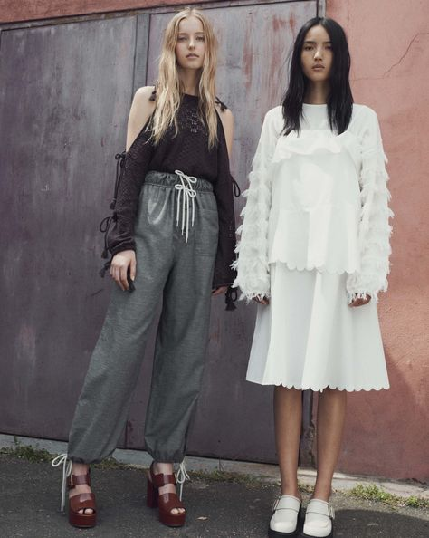 See by Chloé Resort 2017 Fashion Show  http://www.theclosetfeminist.ca/whiteness-resort-2016/  http://www.vogue.com/fashion-shows/resort-2017/see-by-chloe/slideshow/collection27