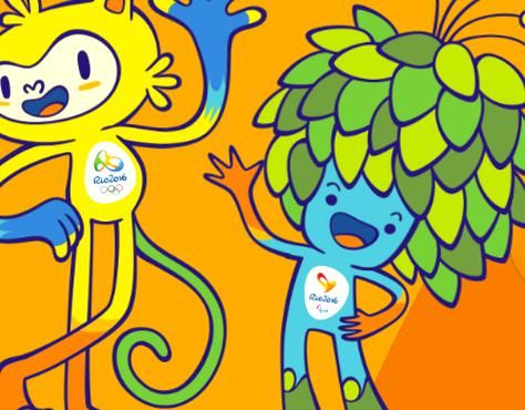 The Mascots For The 2016 Olympic And Paralympic Games Were Revealed On Monday And They Look Like A Cat And A Tree Description From Sportalconz I Searched For Th In 2020