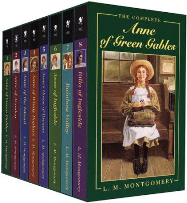 Anne Of Green Gables Series 8 Volume Boxed Set By L M