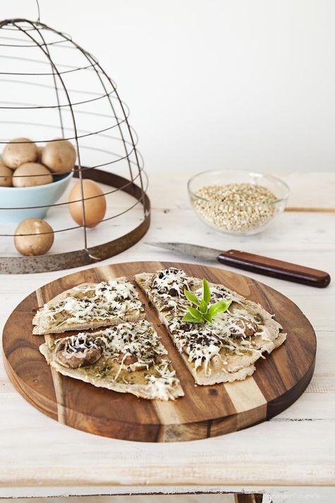 Tarjeta d embarque: Pizza de trigo sarraceno {Sin gluten, sin horno}