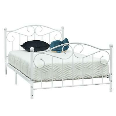 Details About Hot Style Twin Size Metal Bed Frame Headboard Footboard Bedroom Furniture New Twin Size Metal Bed Frame Bed Frame And Headboard Metal Bed Frame