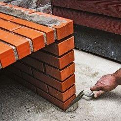 Realiser Un Barbecue Pret A Assembler En Briques Refractaires Brique Refractaire Carrelage Exterieur Brique