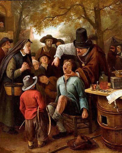 Jan Steen Der Zahnreisser The Tooth Puller Art Classic Art Baroque Art