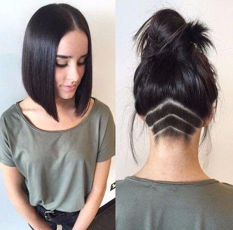 Einen Haircut Moglichkeiten Stylen Einen Haircut 29 Moglichkeiten Einen Lob Haircut Z In 2020 Undercut Frauen Lange Haare Frisur Undercut Bob Frisur Undercut