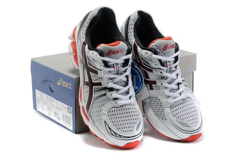 new product 3ee96 5ba38 Asics Running Gel Kayano 17 Red White  onitsukatiger