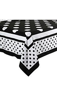 URBAN DOTTED 100% COTTON 135X230CM TABLECLOTH