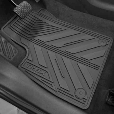 Front And Rear All Weather Floor Mats In Jet Black Chevrolet
