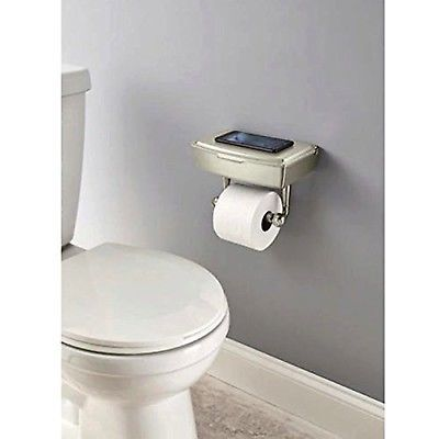Delta Porter Brushed Nickel Toilet Paper Holder With Storage For Wet Wipes New Toilet Paper Holder Toilet Paper Wet Wipes Holder