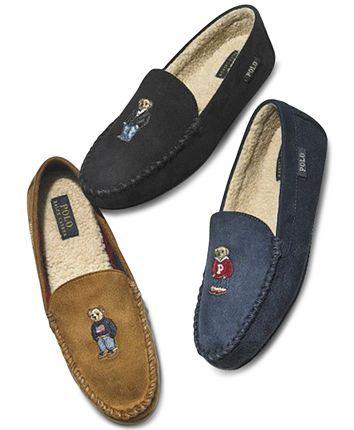 Polo ralph lauren mens, Suede slippers