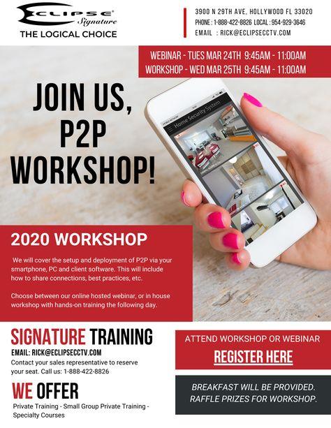 P2P  Webinar