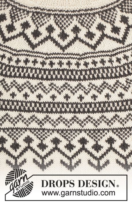 Ravelry: Black Ice pattern by DROPS design