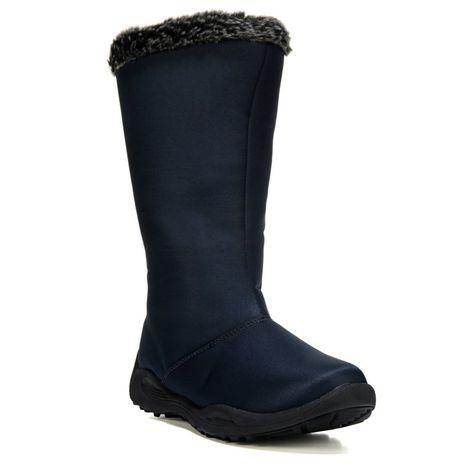4c773579115d Propet Women s Madison Tall Zip Narrow Medium Wide Winter Boots (Navy) -  11.0 2E