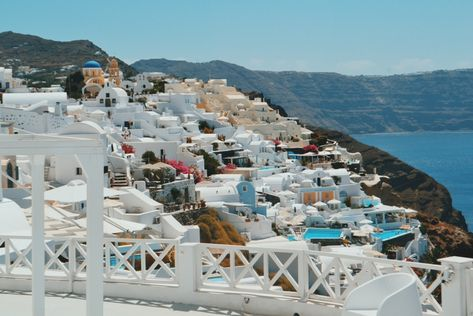 The Story Behind Abroad With Me Santorini Divine San Francisco
